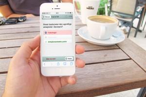 statsborgerskabs prøve iPhone